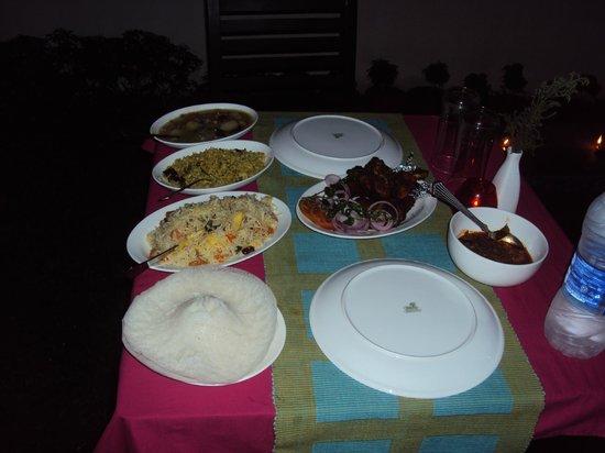 Mayas Beach House : dinner