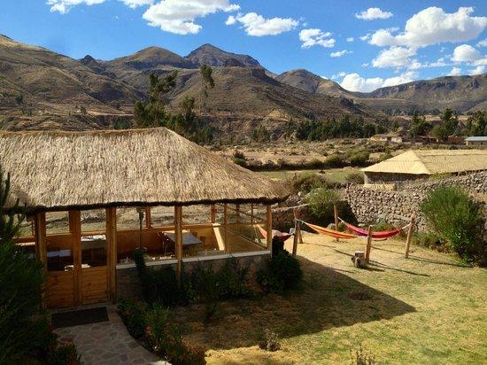 Killawasi Lodge: Vista desde mi habitación. Fantástico.