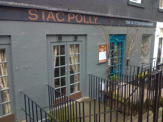 Main entrance Stac Polly Dublin Street