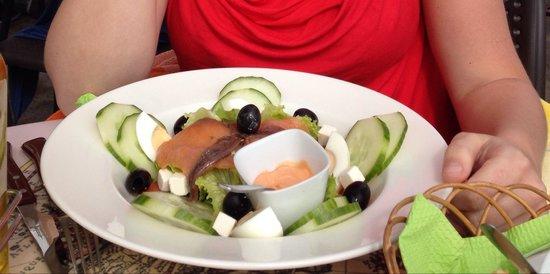 Via Vai: Salade met zalm