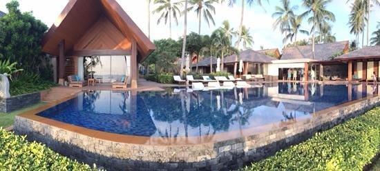 Baan Kilee Villa: Front of the villa