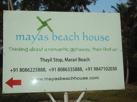Mayas Beach House : address