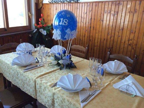 Pronti per il pranzo di natale 2013 picture of trattoria - Tavoli apparecchiati per natale ...
