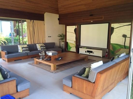 Baan Kilee Villa: Media room