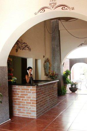 Hotel Posada de la Mision: Recepcion