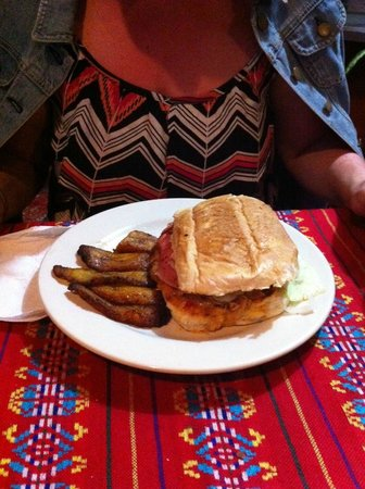 Carlos & Lucia's: Cuban Sandwich with Plantains