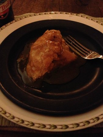 The Pond House Bed and Breakfast : Apple dessert