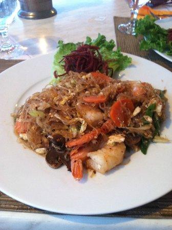 Panlaan Thai on the Bay: Pad Thai with Prawns