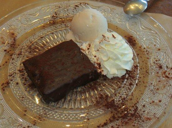La Trattoria Del Gioco : Gateau moelleux au chocolat...