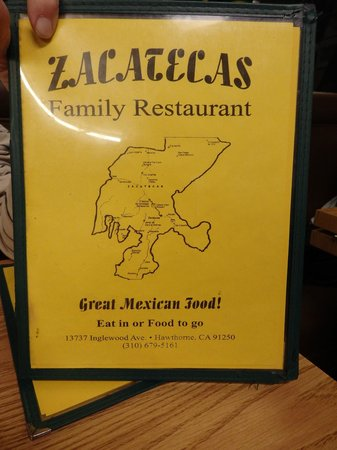 Zacatecas: menu