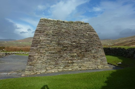Gallarus Oratory: different side than usually seen