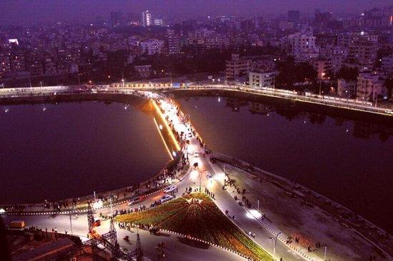 Hatir Jheel : Night view