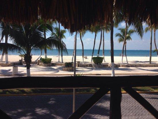 Hotel Posada Del Mar : Vista desde el bar del hotel...