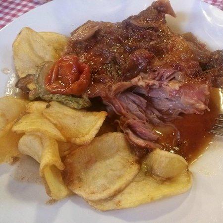 Restaurant can Xifra: Espatlla de xai al forn
