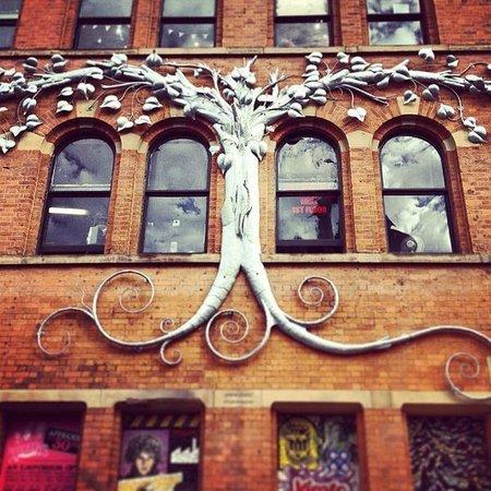 Afflecks: Tree Sculpture