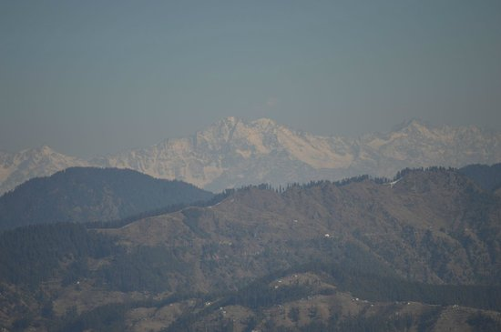 Club Mahindra Mashobra: Himalayan ranges from the room