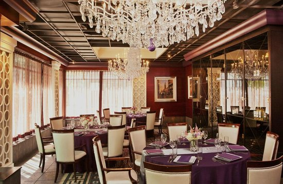 Hotel Providence: Aspire's private dining room