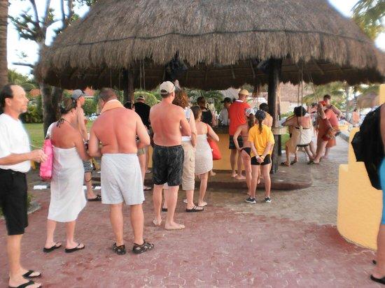 Allegro Cozumel : beach bar