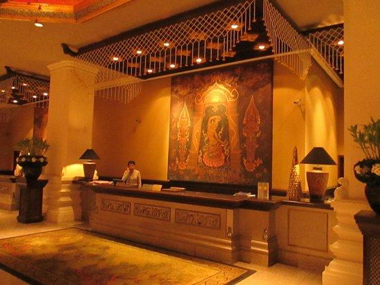 Chiang Mai Plaza Hotel: reception