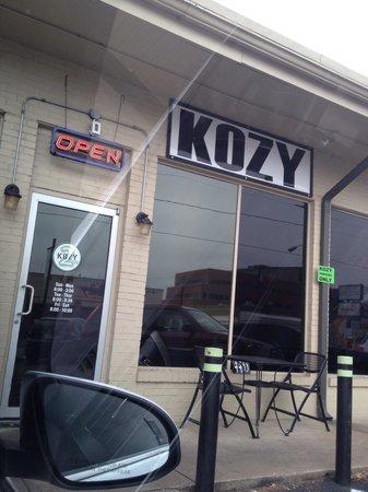 Kozy Kitchen: Front view