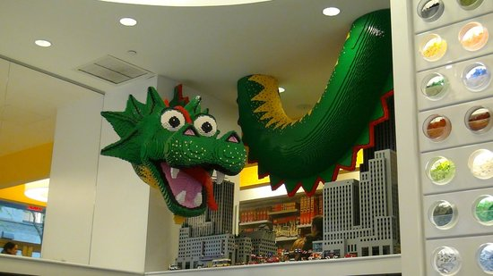 Rockefeller Center: Tienda Lego