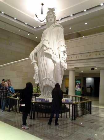 U.S. Capitol: Model for Freedom Statue