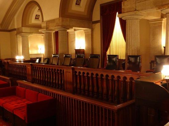 U.S. Capitol: Old Supreme Court Chambers