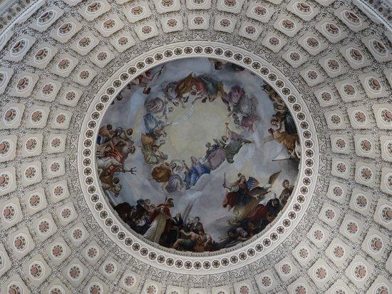 U.S. Capitol: Ceiling