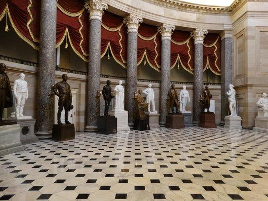 U.S. Capitol: Hall of Statues