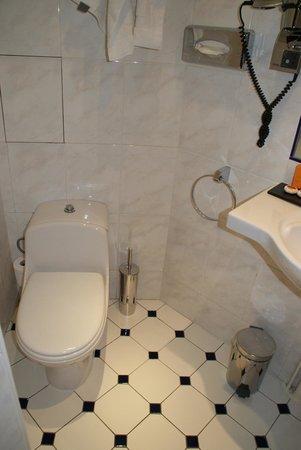 Hotel Regence : Salle de bain, chambre 304