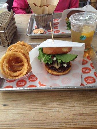 Photo of American Restaurant Yeah! Burger at 1017 N Highland Ave Ne, Atlanta, GA 30306, United States