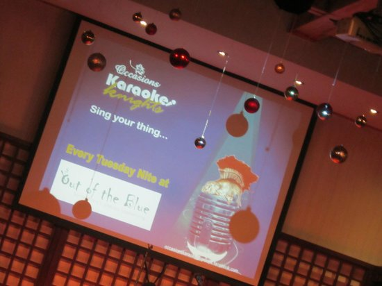 Out of the Blue : Tuesday Karaoke Night