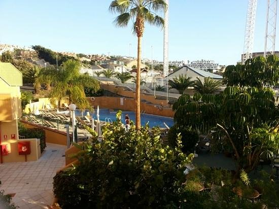 Playa Olid Apartments: view from balcony