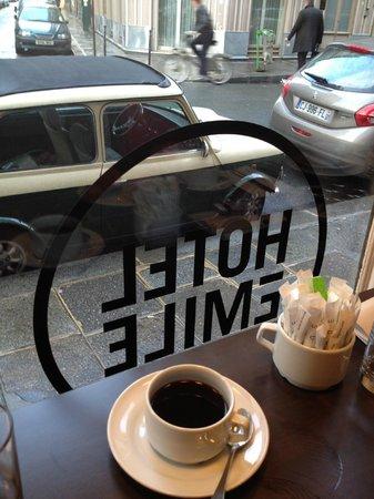 Hotel Emile: dejuner