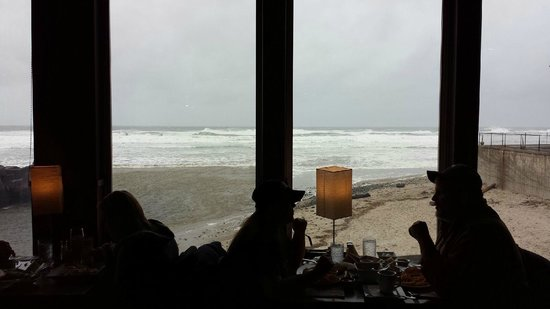 Kyllo's Seafood Grill : Wonderful view from our table
