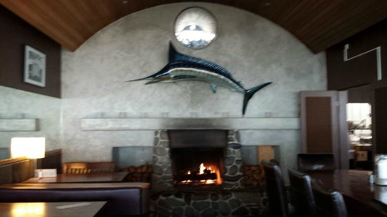 Kyllo's Seafood Grill : Cozy atmosphere!