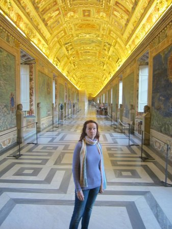 Italy Rome Tour: OH MY! Completely alone in the Hall of Maps!