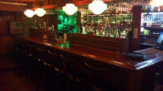 Le Vieux Dublin: just part of the bar