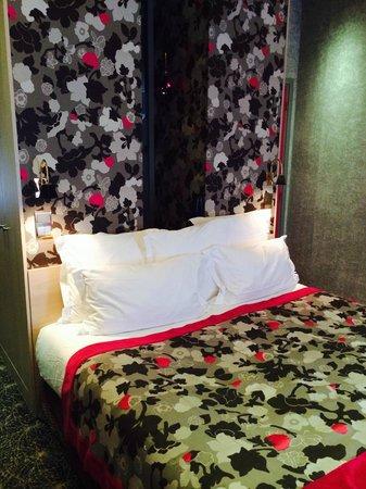 Hotel Regent's Garden: Chambre partielle