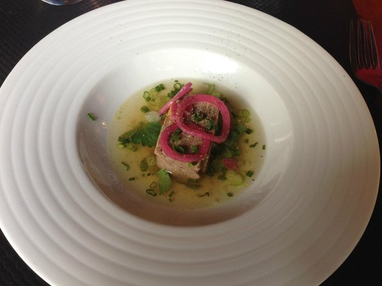 Tempero : terrine de boeuf au foie gras