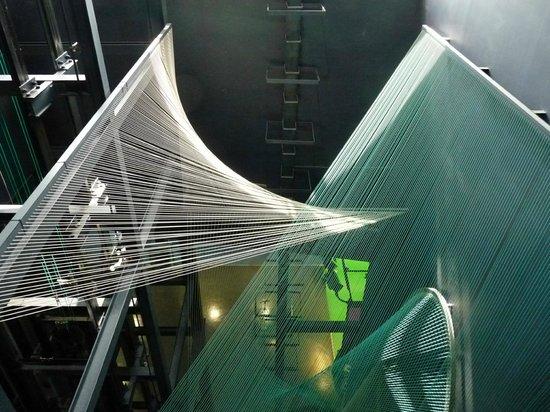 Museo Elder de la Ciencia y la Tecnología: Giochi con linee che si intersecano