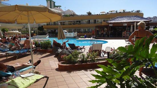 HOVIMA Santa Maria : La piscine et solarium
