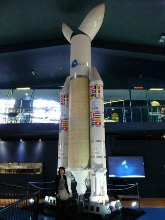 Museo Elder de la Ciencia y la Tecnología: Navicella spaziale