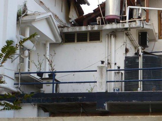 Fort Heritage: vue par la fenêtre de la chambre