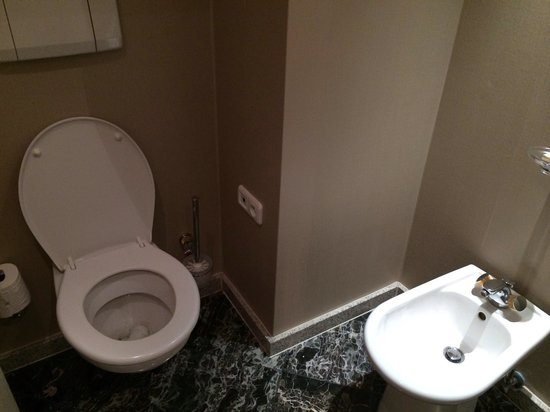 Renaissance Brussels Hotel : Exec suite seperate toilet and bidet