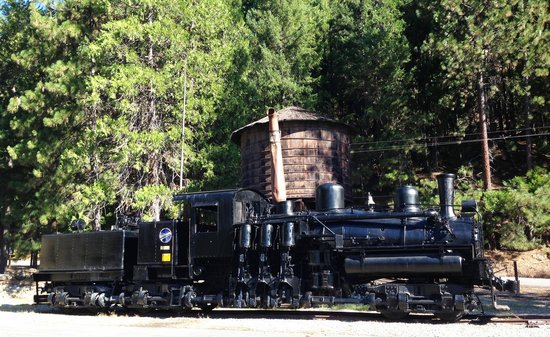 Railroad Park Resort: Shay Engine & Water Tower