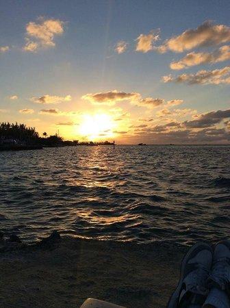 Blackfin Resort and Marina : Beautiful sunsets
