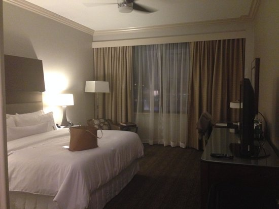The Westin Houston Downtown : Westin´s standards, nice bed