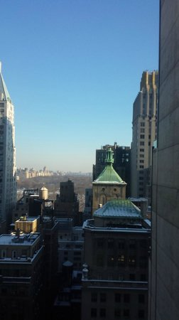 Le Parker Meridien New York: View to Central Park from 26th floor