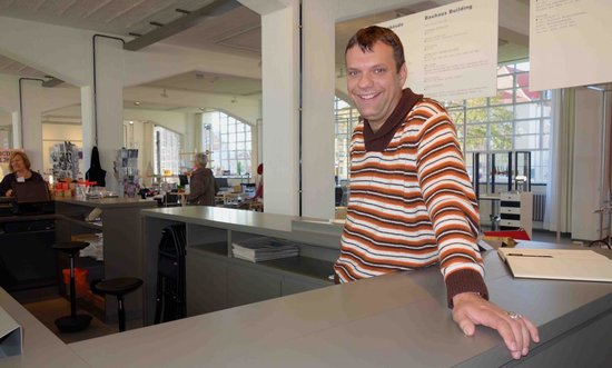 Bauhaus Dessau Foundation: our very knowledgeable, friendly, english-german speaking guide Vincent